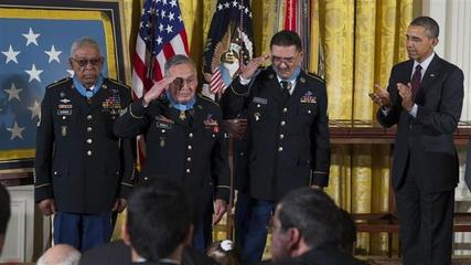 News video: President Obama Awards Medal of Honor to 24 Vets